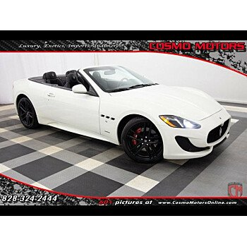 2015 Maserati GranTurismo Convertible for sale 101090808