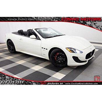 2015 Maserati GranTurismo Convertible for sale 101090808
