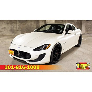 2015 Maserati GranTurismo Coupe for sale 101108783