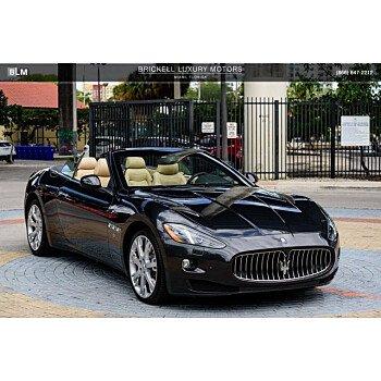 2015 Maserati GranTurismo Convertible for sale 101121836