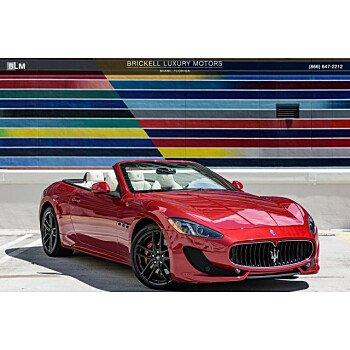 2015 Maserati GranTurismo Convertible for sale 101172396