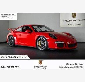 2015 Porsche 911 GT3 Coupe for sale 101245331