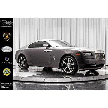 2015 Rolls-Royce Wraith for sale 101097959