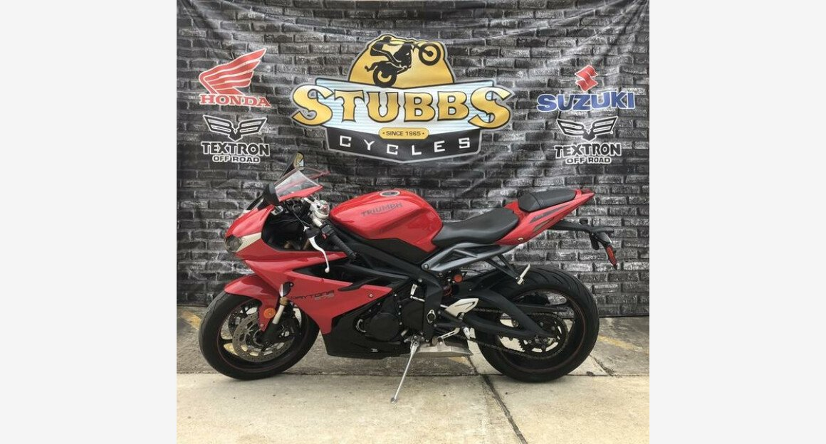 2015 Triumph Daytona 675 for sale 200629458