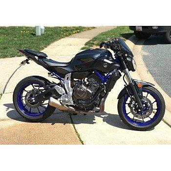 2015 Yamaha FZ-07 for sale 200931447