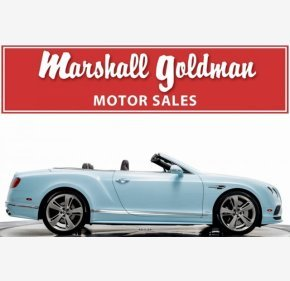 2016 Bentley Continental GTC Speed Convertible for sale 101112392