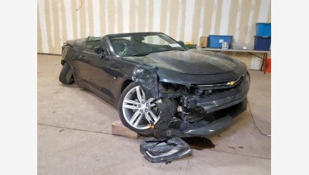 2016 Chevrolet Camaro LT Convertible for sale 101112631