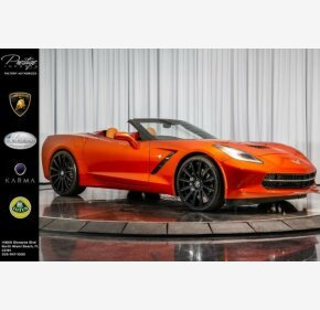 2016 Chevrolet Corvette Convertible for sale 101257344
