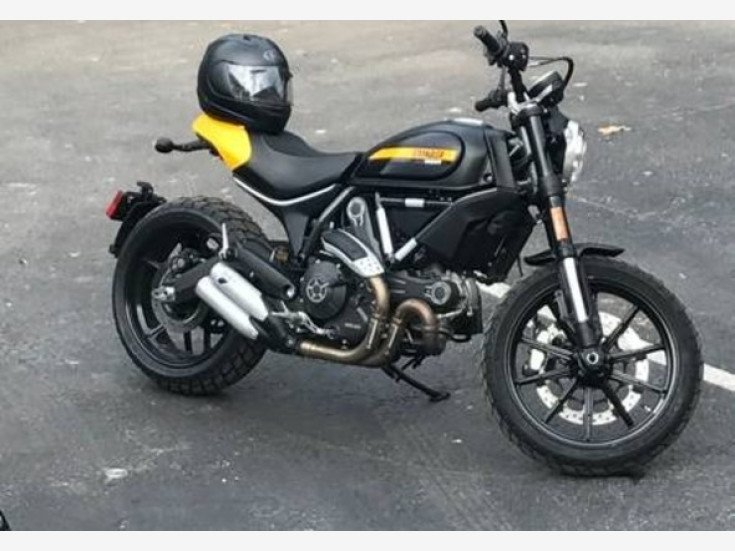 2016 Ducati Scrambler For Sale Near Woodland Hills California 91364