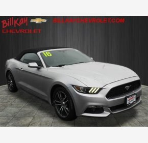 2016 Ford Mustang Convertible for sale 101080585