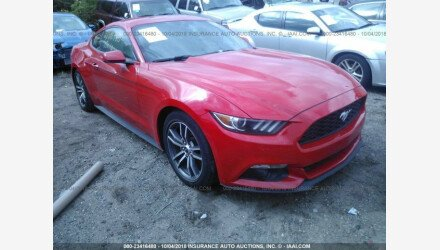 2016 Ford Mustang Coupe for sale 101125771