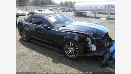 2016 Ford Mustang Convertible for sale 101127732