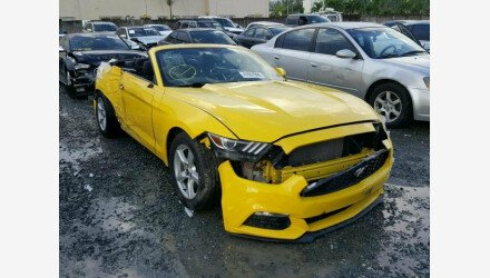 2016 Ford Mustang Convertible for sale 101130418