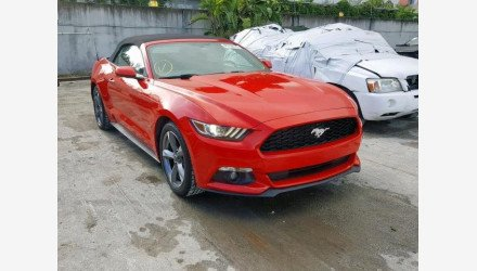2016 Ford Mustang Convertible for sale 101190484