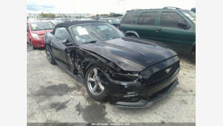 2016 Ford Mustang Convertible for sale 101209147