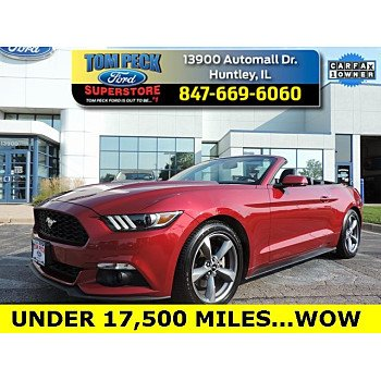2016 Ford Mustang Convertible for sale 101243885