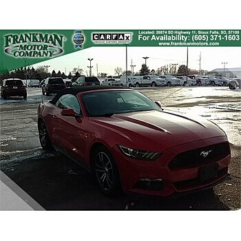 2016 Ford Mustang Convertible for sale 101246994