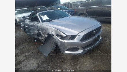 2016 Ford Mustang Convertible for sale 101349658