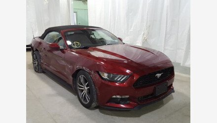 2016 Ford Mustang Convertible for sale 101361304