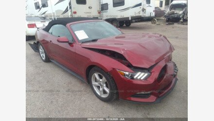 2016 Ford Mustang Convertible for sale 101409962
