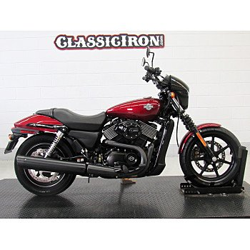 2016 Harley-Davidson Street 750 for sale 200638936