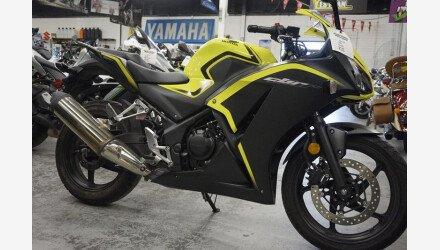2016 Honda CBR300R for sale 200704913