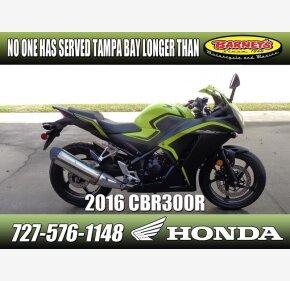 2016 Honda CBR300R for sale 200709803