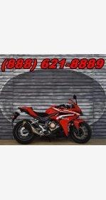 2016 Honda CBR500R for sale 200614737