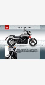 2016 Honda CTX700N for sale 200600392