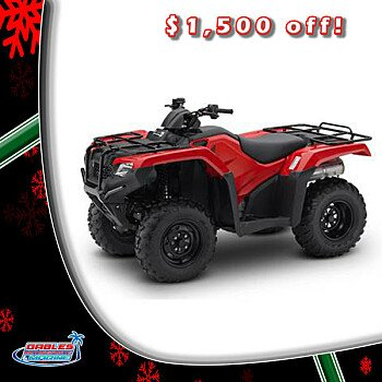 2016 Honda FourTrax Rancher for sale 200356086