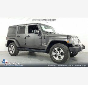 2016 Jeep Wrangler 4WD Unlimited Sahara for sale 101064948