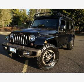 2016 Jeep Wrangler 4WD Unlimited Sahara for sale 101065621