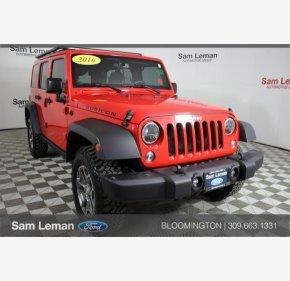 2016 Jeep Wrangler 4WD Unlimited Rubicon for sale 101091646