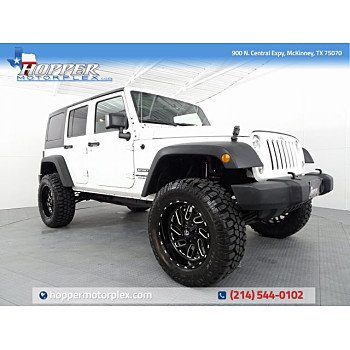 2016 Jeep Wrangler 4WD Unlimited Sport for sale 101165284