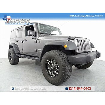 2016 Jeep Wrangler 4WD Unlimited Sport for sale 101165287