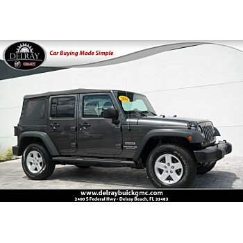 2016 Jeep Wrangler 4WD Unlimited Sport for sale 101180242