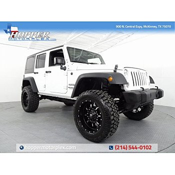 2016 Jeep Wrangler 4WD Unlimited Sport for sale 101183496