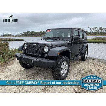 2016 Jeep Wrangler 4WD Unlimited Sport for sale 101211767