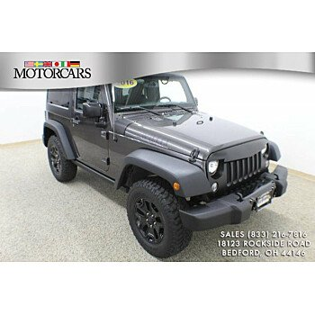 2016 Jeep Wrangler 4WD Sport for sale 101217891