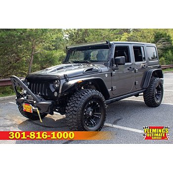 2016 Jeep Wrangler 4WD Unlimited Rubicon for sale 101231188