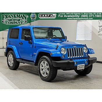 2016 Jeep Wrangler 4WD Sahara for sale 101242078