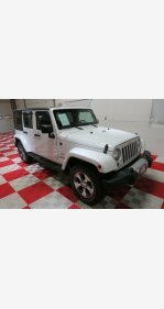 2016 Jeep Wrangler 4WD Unlimited Sahara for sale 101251484