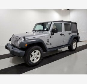 2016 Jeep Wrangler 4WD Unlimited Sport for sale 101260072