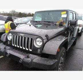 2016 Jeep Wrangler 4WD Unlimited Sahara for sale 101265823
