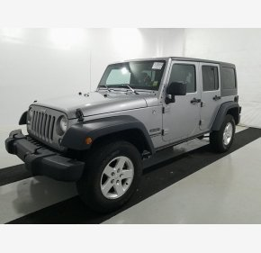 2016 Jeep Wrangler 4WD Unlimited Sport for sale 101270904
