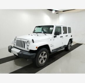 2016 Jeep Wrangler 4WD Unlimited Sahara for sale 101275515