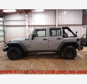 2016 Jeep Wrangler 4WD Unlimited Sport for sale 101277666