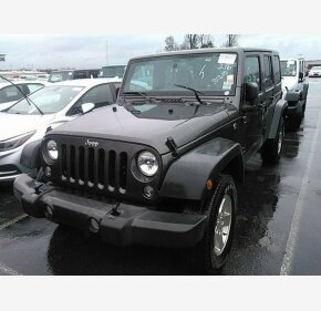 2016 Jeep Wrangler 4WD Unlimited Sport for sale 101278409