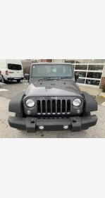 2016 Jeep Wrangler 4WD Unlimited Sport w/ RHD for sale 101278952