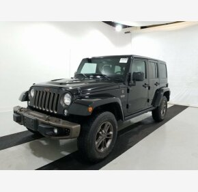 2016 Jeep Wrangler 4WD Unlimited Sahara for sale 101279855